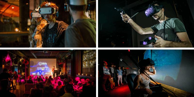VR artistic event in Bangkok
