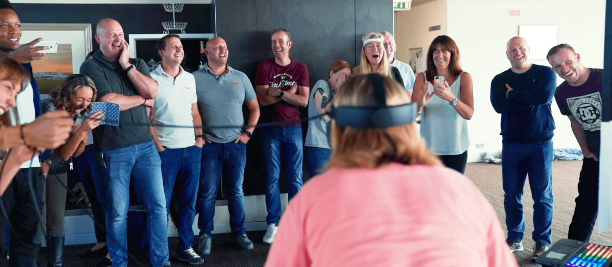 Virtual reality for your team building event in Bangkok