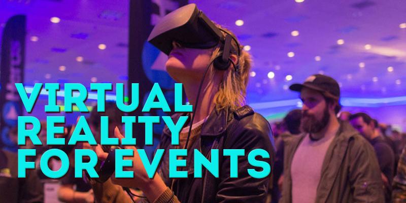 virtual reality event